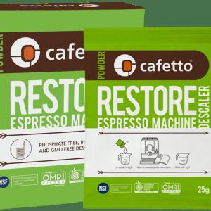 Cafetto Restore Descaler x 4 sachets