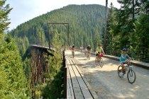 Route of the Hiawatha Idaho Biking Adventure