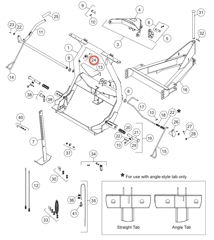 Moose Plow Parts Diagram