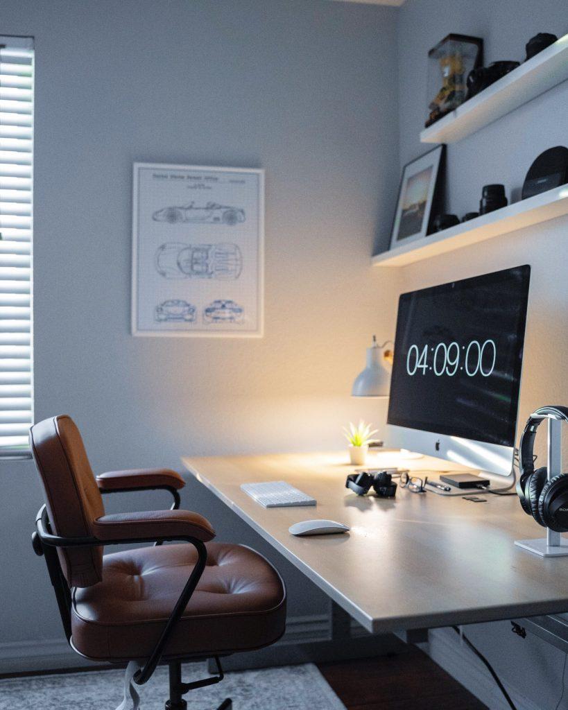 منزلك إلى مكتب