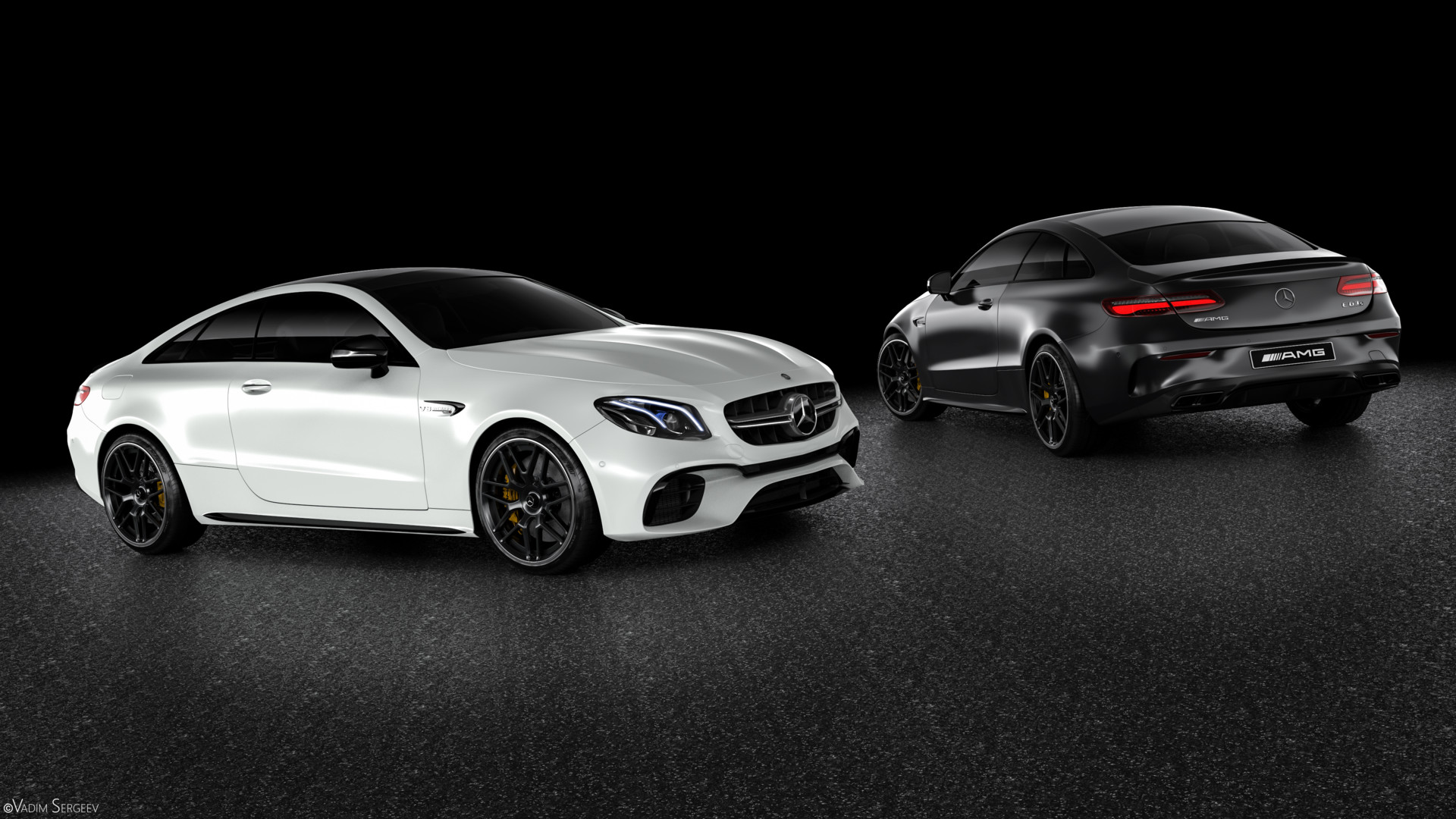 Incredible Mercedes Amg E63 S Coupe Renderings Show Why It