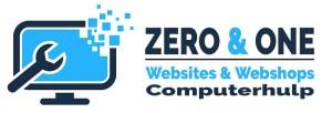Logo Zero & One 2020 Computerhulp Websites & Webshops
