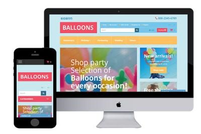 Balloons – Free Responsive OpenCart Theme