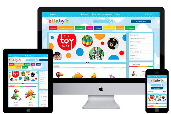 zBaby Free Opencart Themes