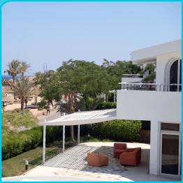 Ausblick von Villa