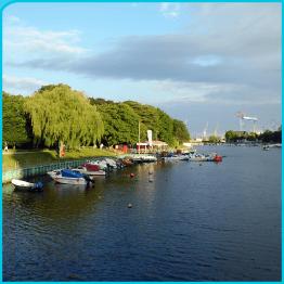 Hafenbrückenaussicht