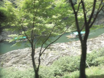 保津峡の景色