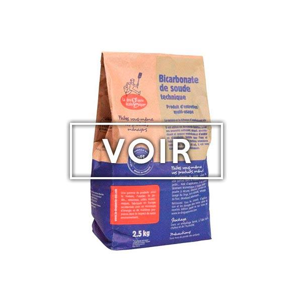 Bicarbonate de soude boutique Objectif zéro déchet