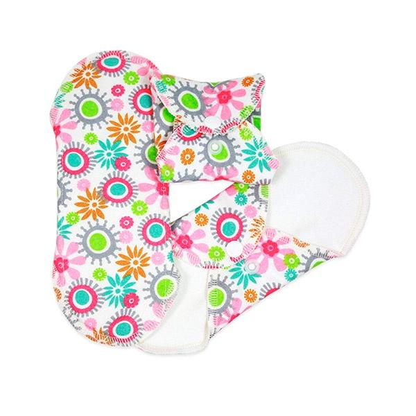 Serviettes hygiéniques lavables boutique Objectif zéro déchet