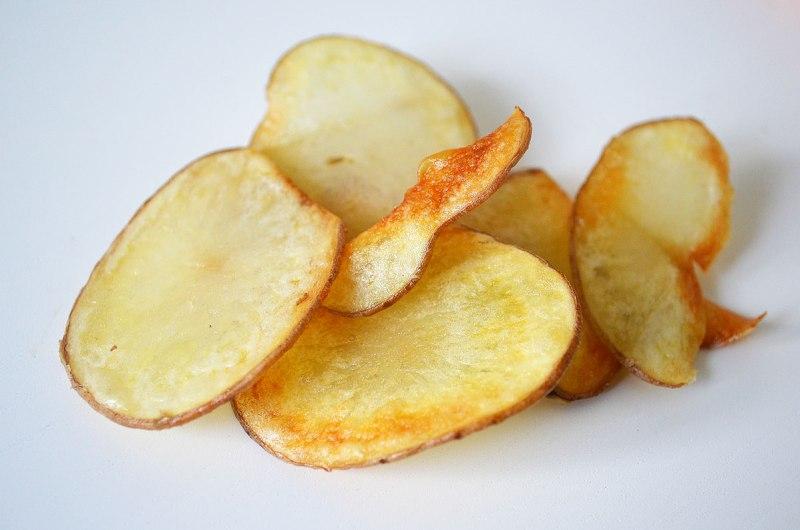 Recette de chips zéro déchet