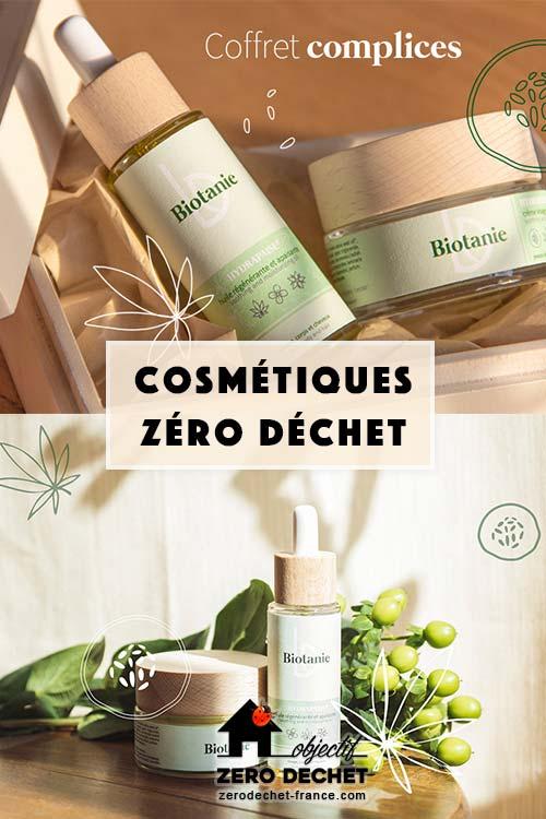 Biotanie cosmétiques zéro déchet