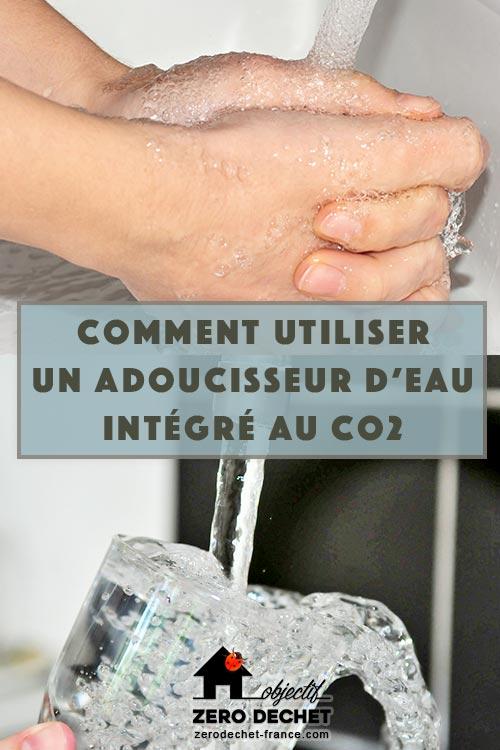 Adoucissir l'eau au Co2