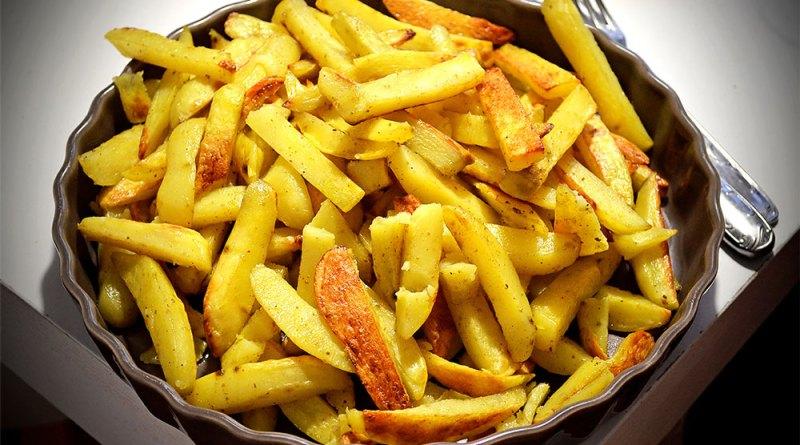 Recette de frites au four