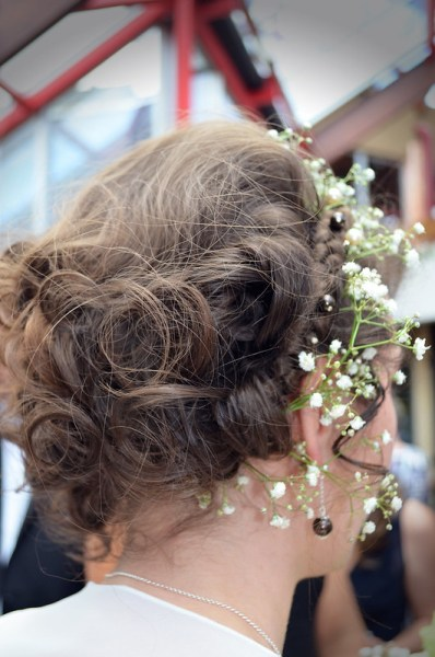 Ma coiffure pour mon mariage zéro déchet