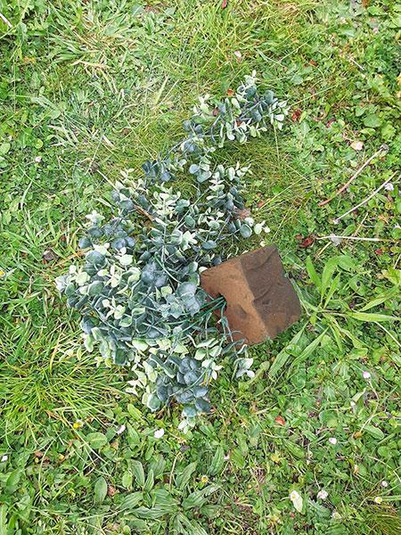 Plante en plastique objectif zéro déchet