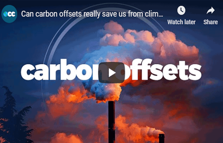 Can carbon offsets save us from climate change? (Video)