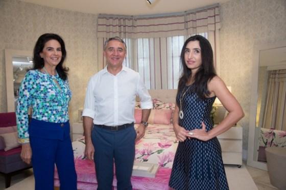 Joy Garrido, Zeco Beraldin e Valeria Beraldin