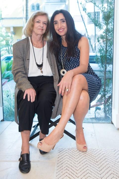 Julinha Serrado e Valeria Beraldin