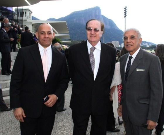 dolfo Neto, Andre  Dumortout e Sergio Nogueira Lopes