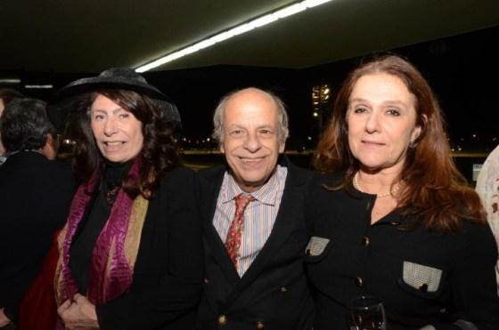 Ana Maria Tornaghi, Ivan Cardoso e Monica Mangia