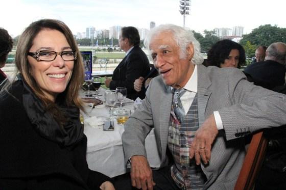 Marcia Martins e Ziraldo