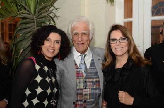 Paula Morelembaum, Ziraldo e Marcia Martins