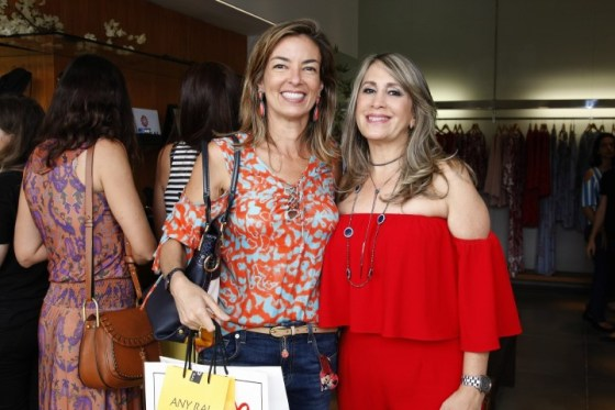 Ana Paula Lucas e Regina Michaela