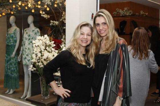 Alessandra Curvelo e Ana Paula Colla