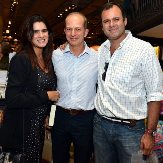 Joana Oakin, Fernando Barrozo do Amaral e Erick Figueira de Mello