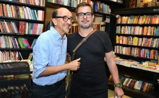 Joaquim Ferreira dos Santos e Leo Aversa