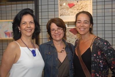 Martha Pagy, Solange Casotti e Ursula Tautz