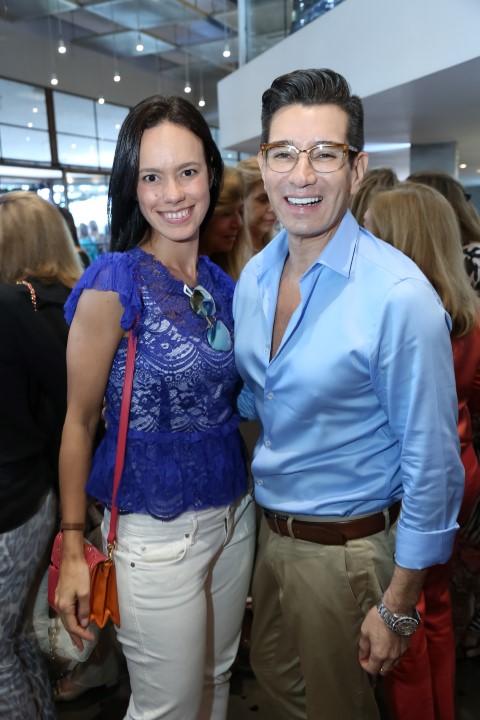 Ana Carolina Villela e Marcelo Hicho