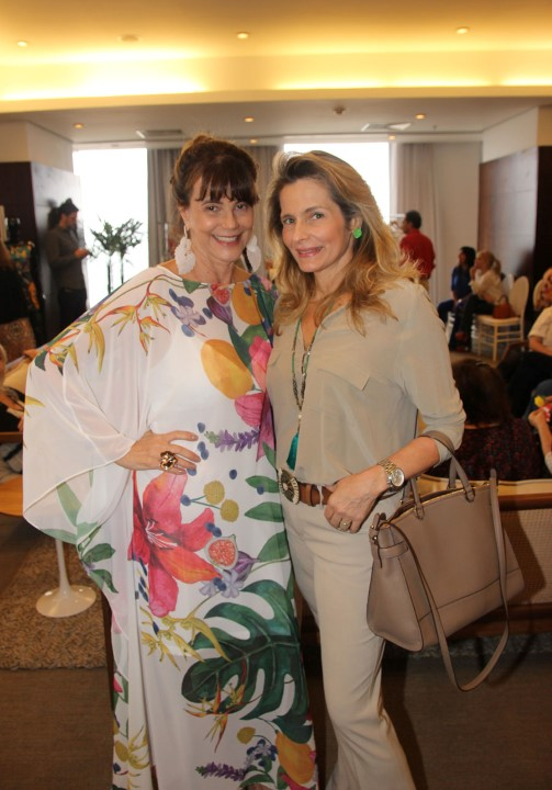 Maly Peixoto e Ana Paula Leão Teixeira