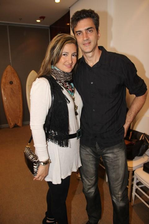 Priscila Gama e Marcello Lo Fiego