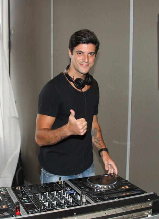 O DJ Bernardo Magiolli