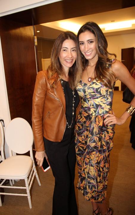 Christiana Pontes e Maria Victoria Rodrigues