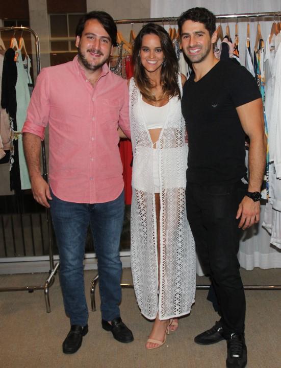 Nestor Rocha, Sabine Arias e José Candido Lopes
