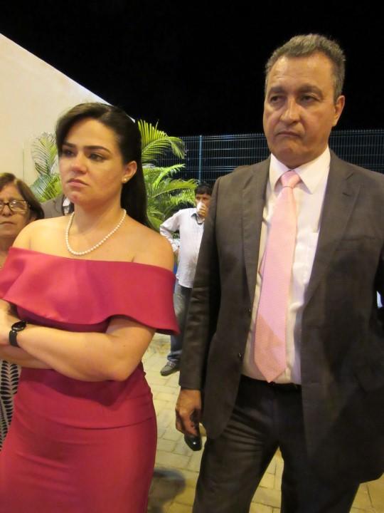 Aline Peixoto e Rui Costa, primeira-dama e Governador da Bahia