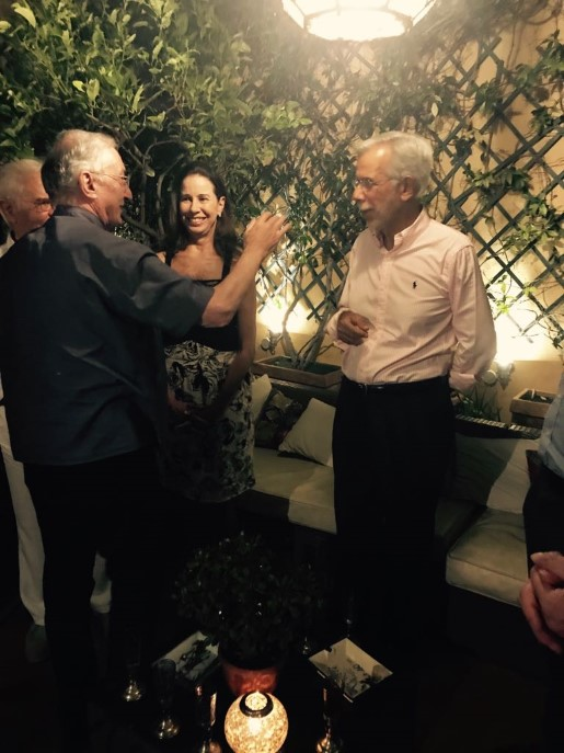 Kiki e renato garavaglia completam 50 anos de casados e for Renato portaluppi e casado