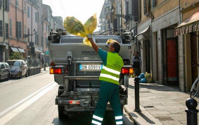 A Parma il servizio di raccolta porta a porta sarà effettuato regolarmente