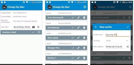 Change My MAC – Spoof Wifi MAC