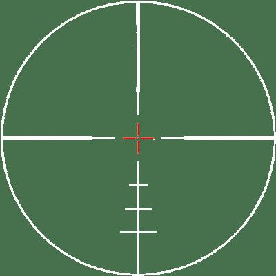 reticle-PHR II-ILLUM-WHITE-ZeroTech Precision Optics