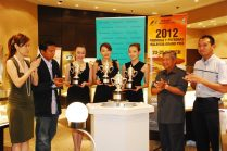 Tiffany & Co Trophies for 2012 Malaysian F1 - 12