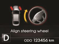 KIA Optima K5 - 138 Steering Wheel Position Indicator