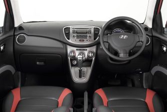 Hyundai i10 Colourz - 10 Pink Interior