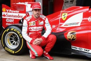 UPS Sponsors Ferrari F1 Team - 02 Fernando Alonso