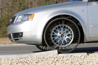 Michelin Airless Tyre (The Tweel) - 02 On an Audi