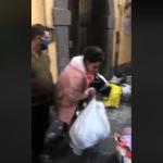 Napoli risponde all'emergenza Coronavirus, ci hanno segnalato questo episodio amorevole