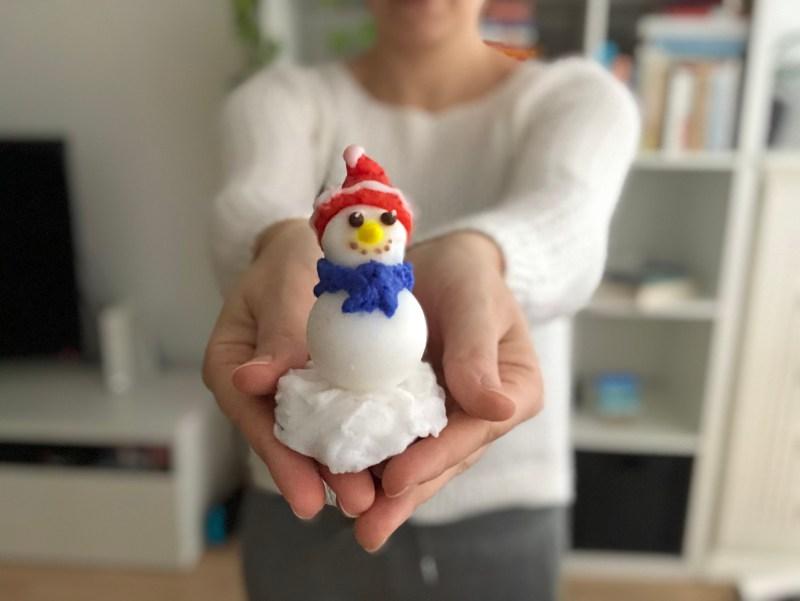 soap snowman