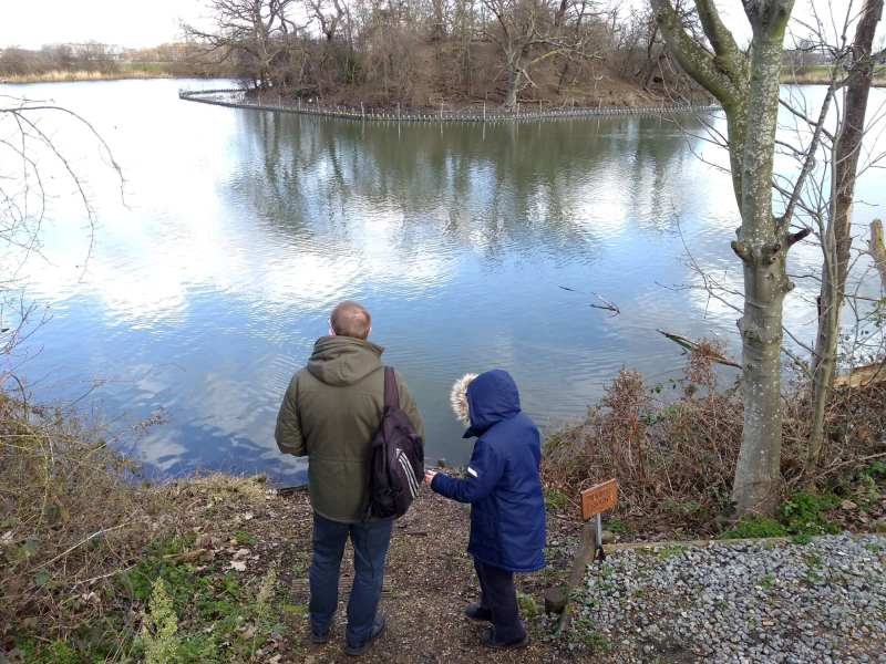 Yule activity reccommended by Angela - walks on nature reserve